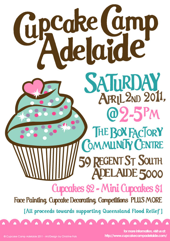 Cup Cake Camp Adelaide