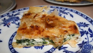 piecropped 300x171 Jamie Olivers Feta and Spinach Pie
