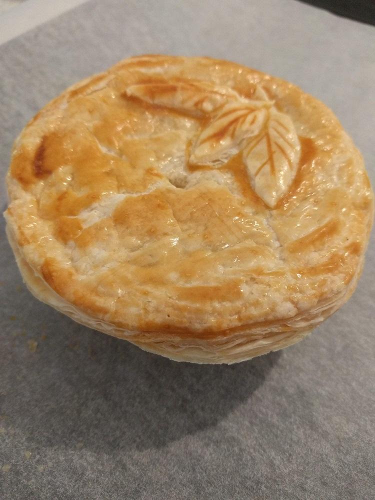 Classic Australian meat pie